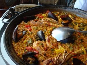 Paella - absolut delicioasă!!!!!!