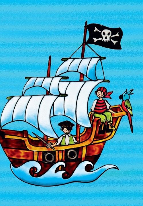 corabie cu pirati